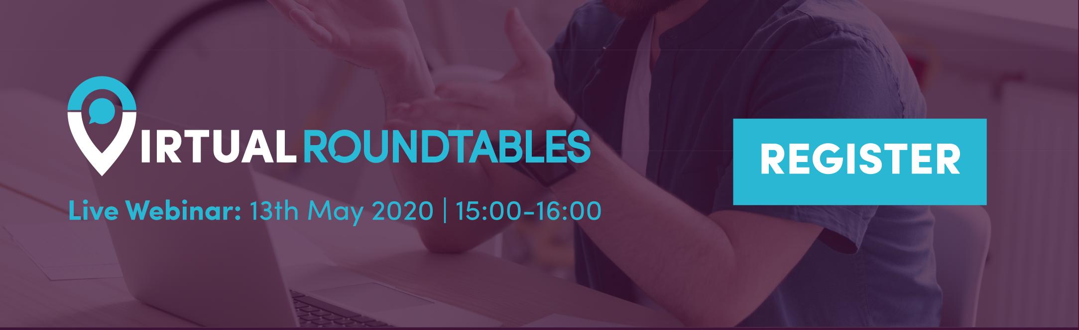 register virtual roundtables live webinar